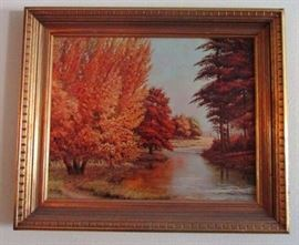 Original oil on canvass-signed