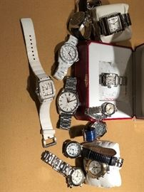 Rolex, Chanel, Cartier, Corum, Tag Huer, Omega Watches
