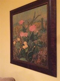 Cactus flowering painting - Great!