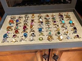 Rings - Gold, platinum, diamond, Cameo, Ruby, Sapphire, Amber, Jade, Persian Turquise, Citrine, pearl