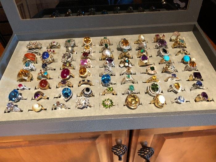 Rings - Gold, platinum, diamond, Cameo, Ruby, Sapphire, Amber, Jade, Persian Turquise, Citrine, pearl