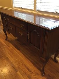 "Sideboard. Measures about"" 59"" wide, 18"" deep. 32"" high"