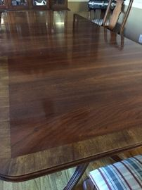 Dining room table - another view