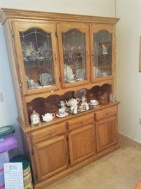 China cabinet / China/ Crystal all 50% off
