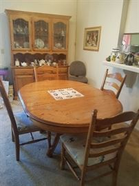 Dining table with 4 chairs now $125