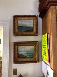 Beautiful Pair of Oil Paintings