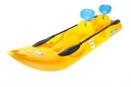 Future Beach catamaran kayak with paddles & headrests