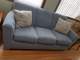 Sofa (6.5 ft. long) & matching loveseat available; made by Flexsteel