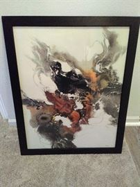 Framed Art Piece  https://www.ctbids.com/#!/description/share/8494