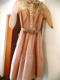 ...one of many vintage dresses