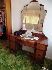 Stunning antique vanity