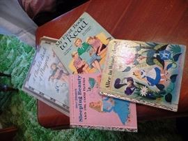 Some of the vintage children's books