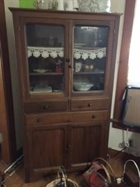 Nice antique display/storage cabinet