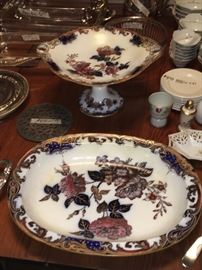 Wedgwood platter & Compote
