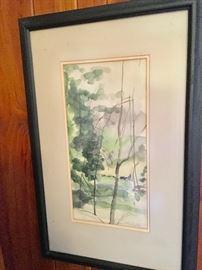 Patricia Harrington Watercolor