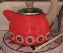 Retro tea kettle