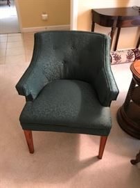 Mid-Century upholstered chair.