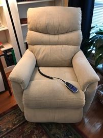 Lady's Lazy Boy Recliner. Two year's old.