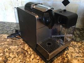 DeLonghi Nespresso machine, rarely used, like new