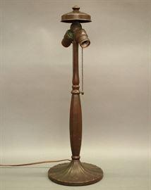 Handel lamp base