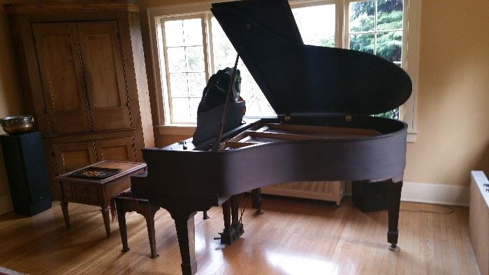 Jesse French and Sons grand Piano