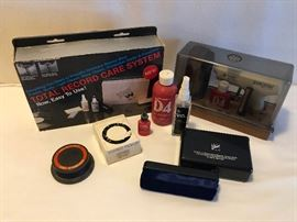 Stereo cleaning accessories  http://www.ctonlineauctions.com/detail.asp?id=683287