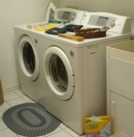 LG front-load washer/dryer