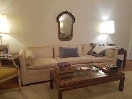 Mid Century Sofa -Extra Long length
