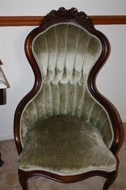 His and Hers Parlor Chairs