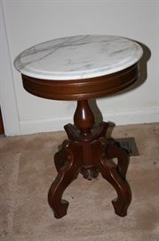 Small Marble Top end Table