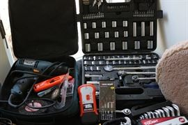 Power tools and Socket Set