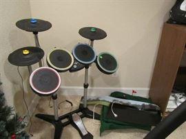 Rock Star drums.