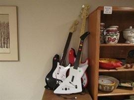 Rock Star guitars.