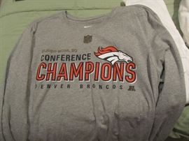 Brand new Denver Broncos shirt.