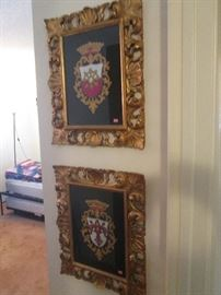 Coat of Arms, beautifully framed