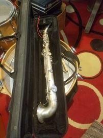 1920's King Saxello Curved Soprano Sax