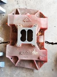 VINTAGE Weiand intake manifold for 4 barrel carburetor             mo par 383  BUY IT NOW $ 100.00