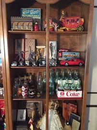 Vintage Toys, Bottles & Cans (Coca Cola +)