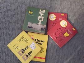 Vintage 1960's  Metro Detroit Phone Books