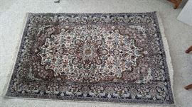 GORGEOUS APROX 5X7 HAND WOVEN RUG