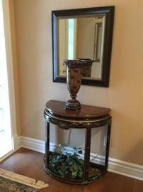Drexel Heritage demilune table