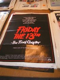 1 Sheet Movie Posters - Horror