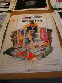 1 Sheet Movie Posters - 007 James Bond
