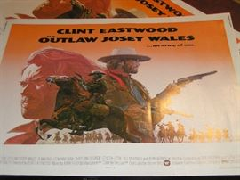 Outlaw Josey Wales - 1/2 Sheet Movie Poster