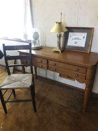 sofa table and chair