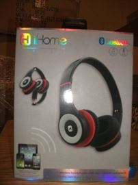 iHome iB85BRC Bluetooth Wireless Foldable Headphon ...