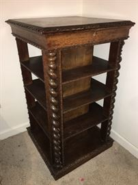 19th Century Edwardian Scottish bookcase with private compartments