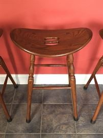 Berkshire Furniture, English Walnut, counter stools