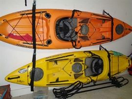 pair kayaks in this sale & carrier