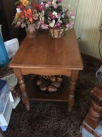 Nice maple table.